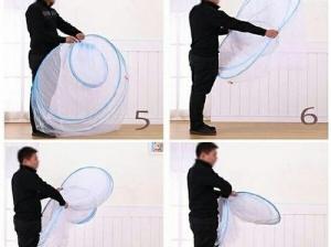 Cách giăng gấp màn ngủ trong 30 giây - Màn tuyn zozo